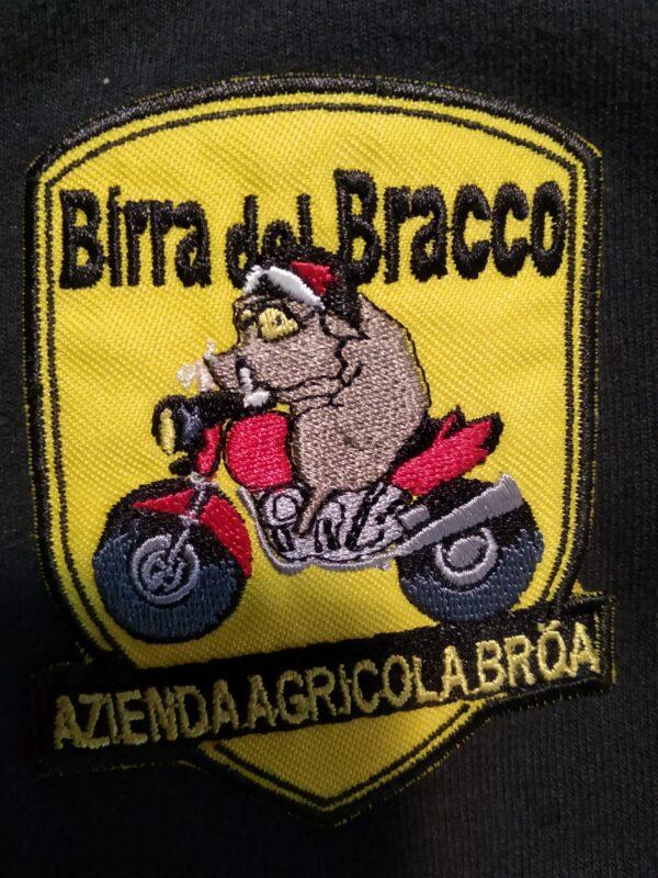 Toppa ricamata logo Birra del Bracco